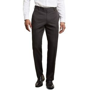 Kenneth Cole 36x32 Black Reaction Dress Pants E468